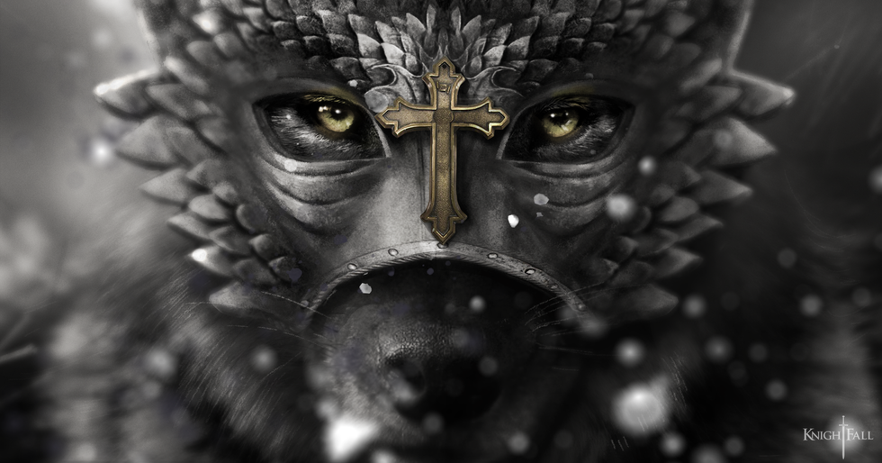 "History Channel ""KnightFall""- Wolf"