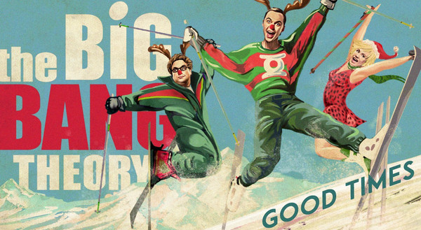"""CBS Holiday Greeting -""""Big Bang Theory"""""""