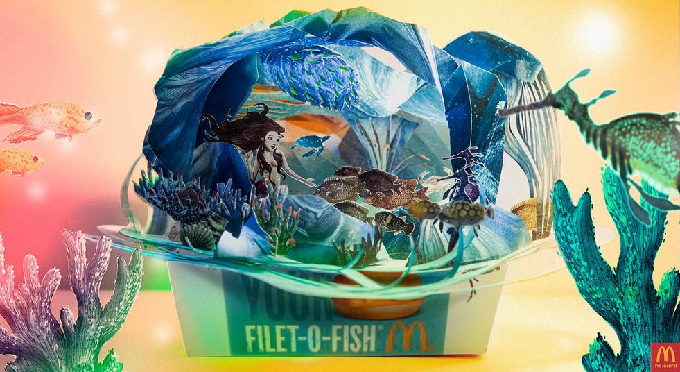 Mcdonald's Fillet oh Fish