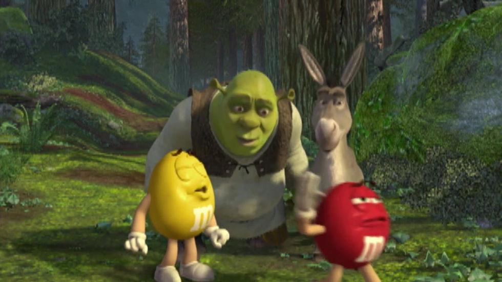 M&Ms & Shrek