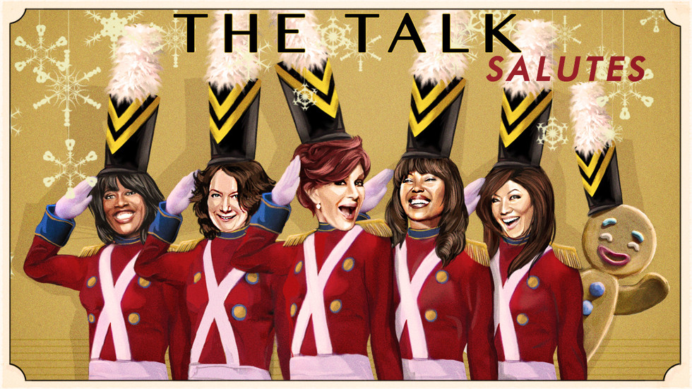 "CBS Holiday Greeting -""The Talk"""