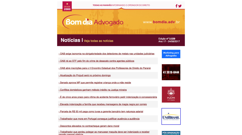 Website Bom Dia Advogado