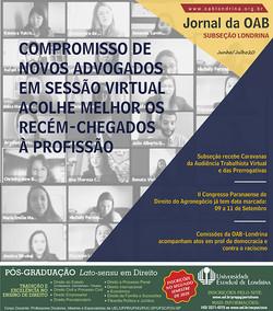 CAPA OAB Londrina Junho-Julho20 X