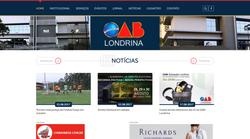 Website OAB Londrina