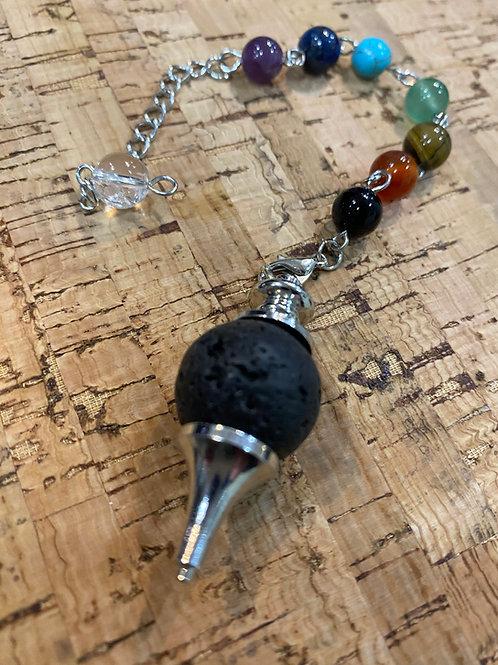 Lava Stone Pendulum