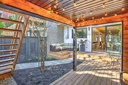 Terrasse semi-couverte