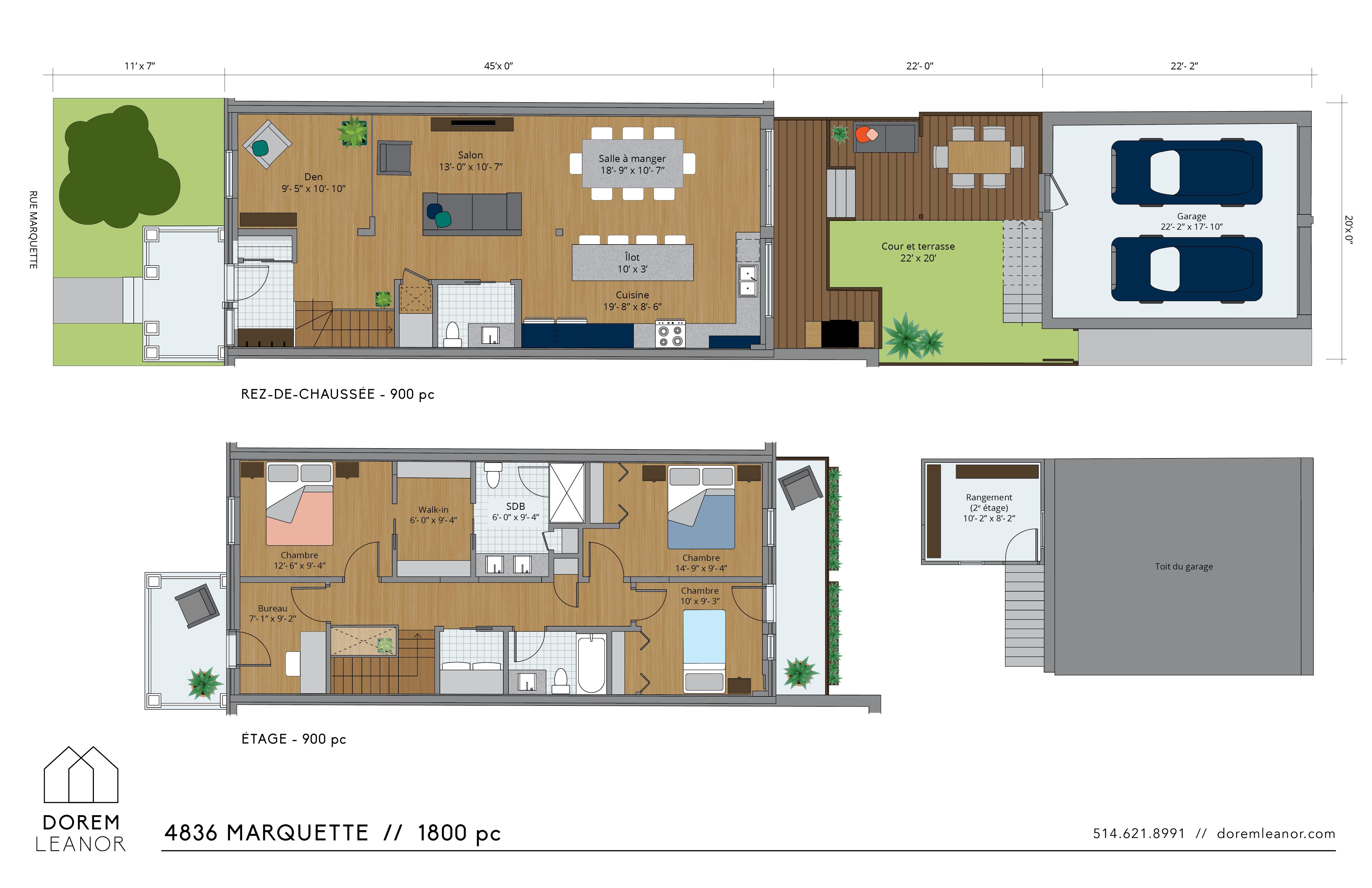 Plan vente Marquette