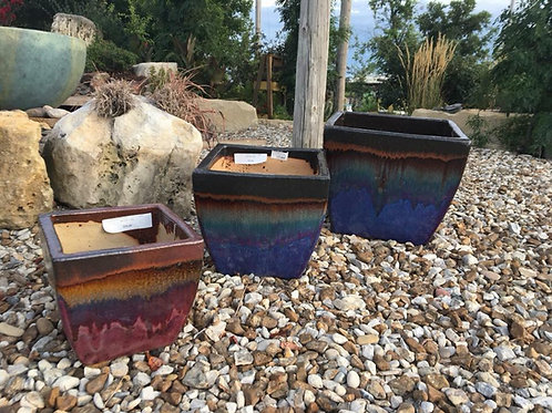 Lorimar Planter-Lava Purple Pottery