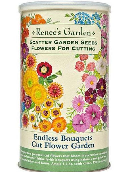 Scatter Garden Seeds Endless Bouquets Cut Flower Garden