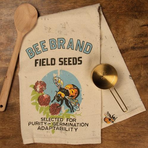Bee Brand Field Seeds Dish Towel