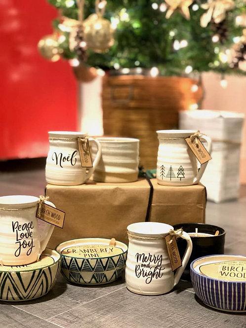 Christmas Espresso Mug (Handmade locally)