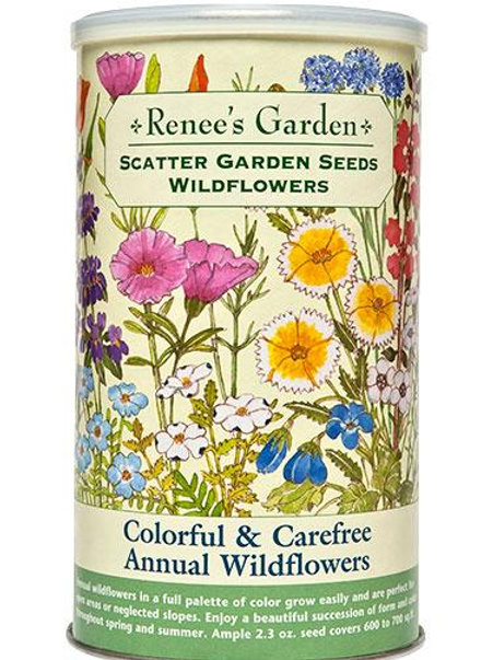 Scatter Garden Seeds Colorful & Carefree Annual Wildflowers