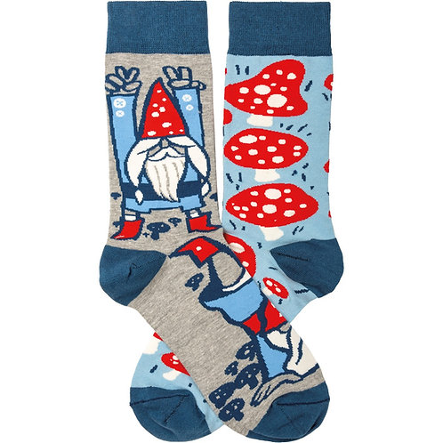 Gnomes & Mushrooms Socks