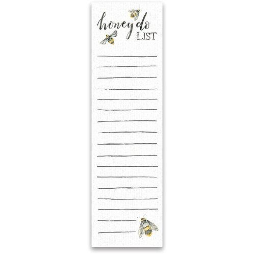 Honey Do List Notepad