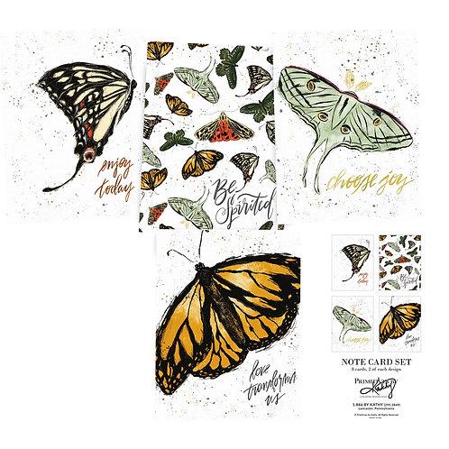 Monarch Note Card Set