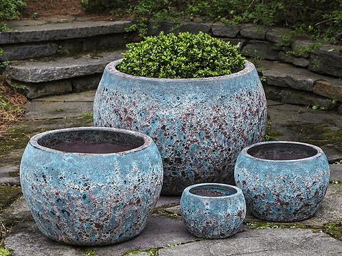 Naxos Planter – Angkor Teal Pottery