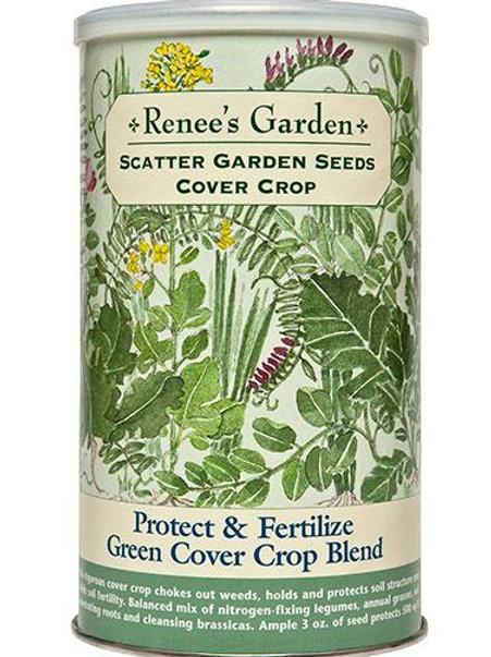 Scatter Garden Seeds Protect & Fertilize Green Cover Crop Blend
