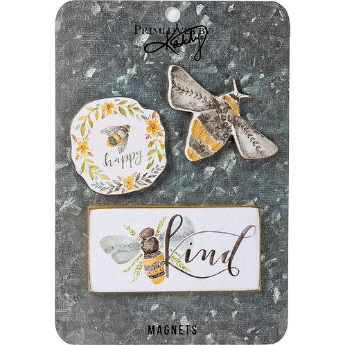 Bees Magnet Set