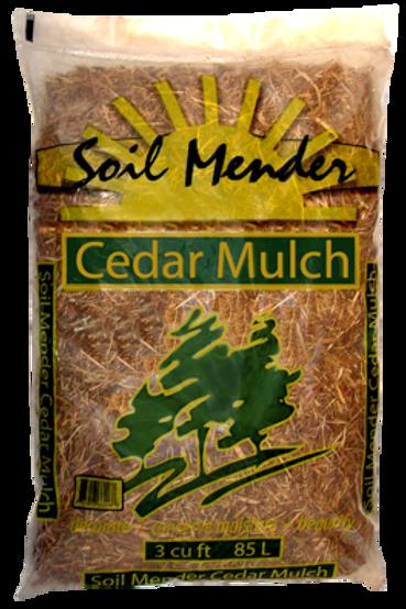 Premium Cedar Mulch (Bagged)