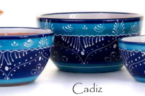 Cadiz Round Bowls