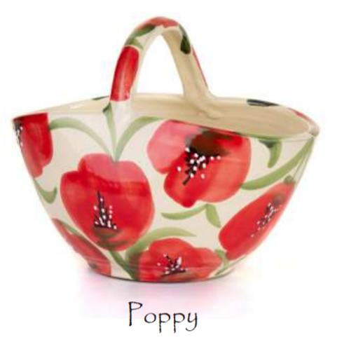 Poppy Basket Planters