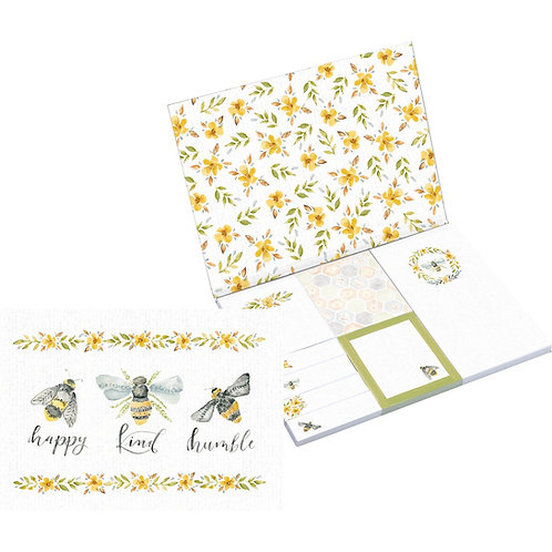 Bees Sticky Notes