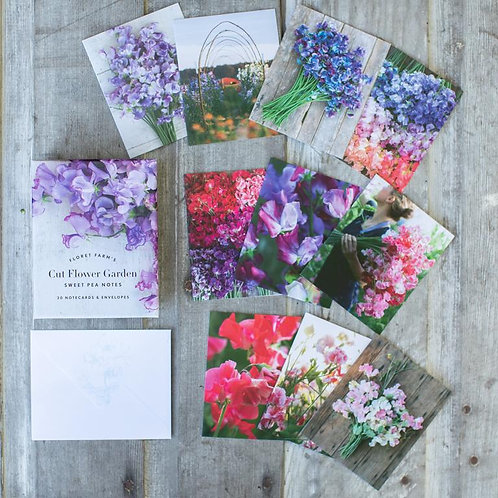 Floret Farm's Cut Flower Garden Sweet Pea Greeting Cards