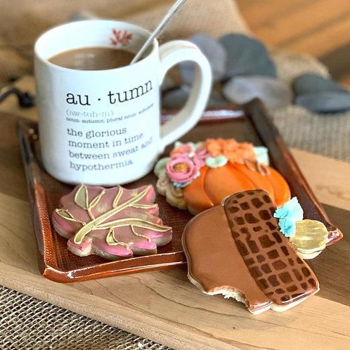 Autumn Mug (handmade locally)