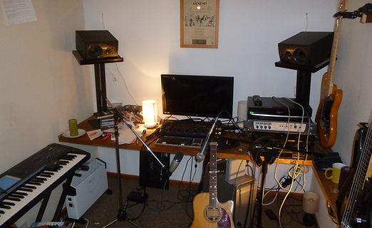 Gary's home studio - August 2016