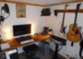 Gary's home studio - 2016