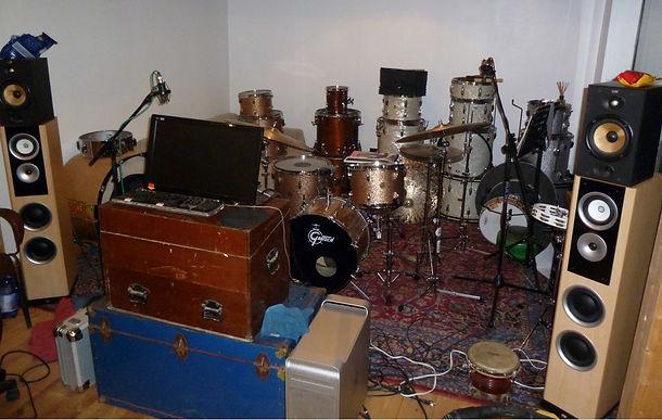 Steve's drum studio