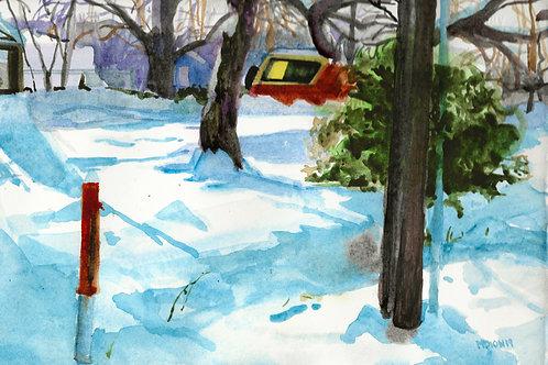 Boise Christmas Snow