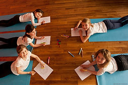 Atelier Yoga enfant atelier mandala
