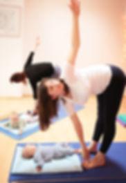 Cours de Yoga post-natal chez Atelier yoga à Uccle
