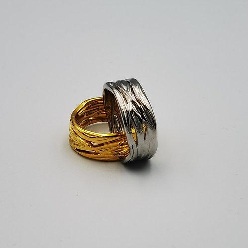 Δακτυλίδι φαρδύ πλέγμα