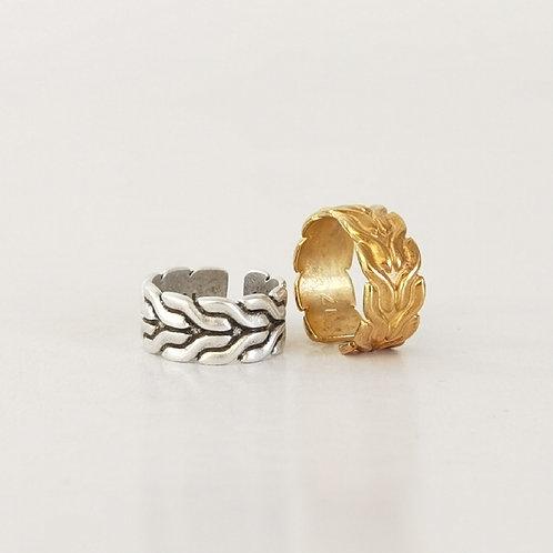 Δακτυλίδι πλεξούδα
