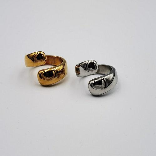 Δακτυλίδι λοξό φαρδύ