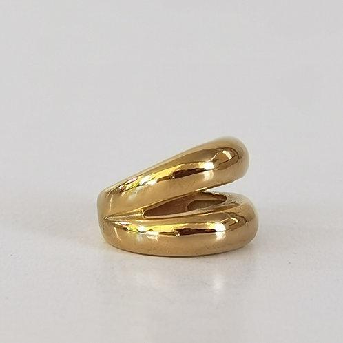 Δακτυλίδι ατσάλι διπλό