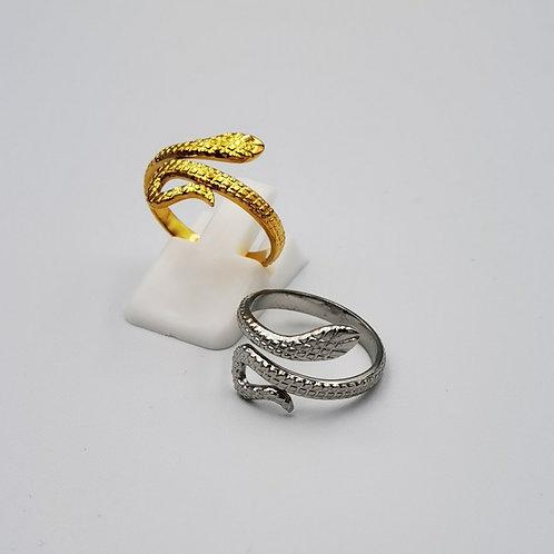 Δακτυλίδι σφυρήλατο φίδι