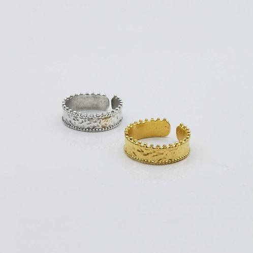 Δακτυλίδι κορώνα Χ