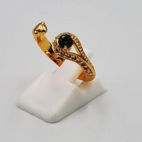 Δακτυλίδι φίδι πέτρα