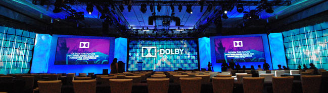 DOLBY WORLDWIDE MEETING - HOLLYWOOD