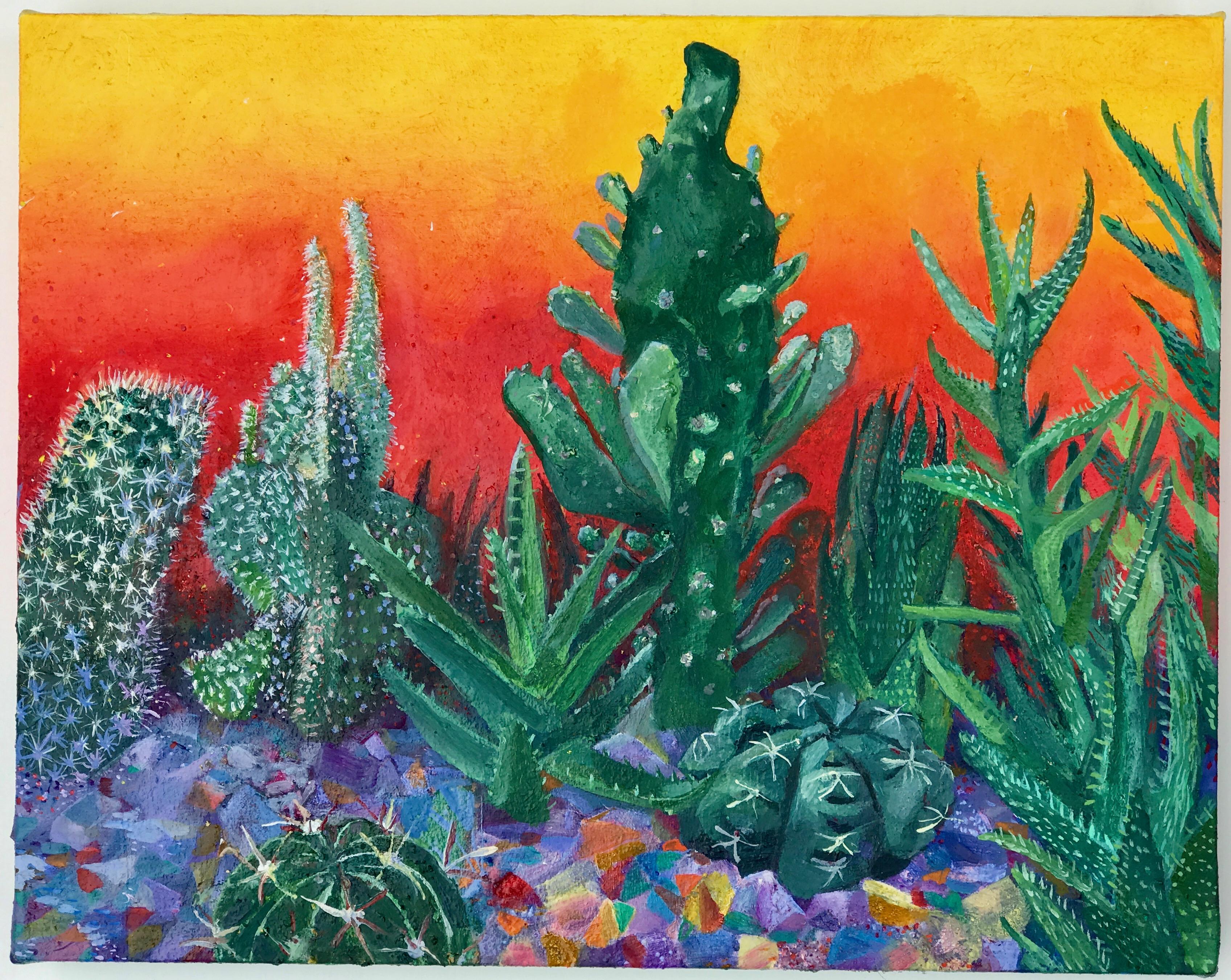 Sunset Cactus Quartz