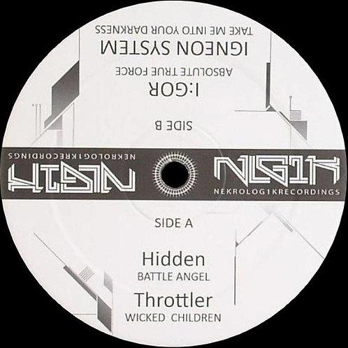 Hidden* / Throttler / I:gor / Igneon System – Untitled 12'