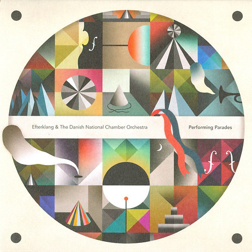 Efterklang & The Danish National Chamber Orchestra* ‎– Performing Parades CD/DVD
