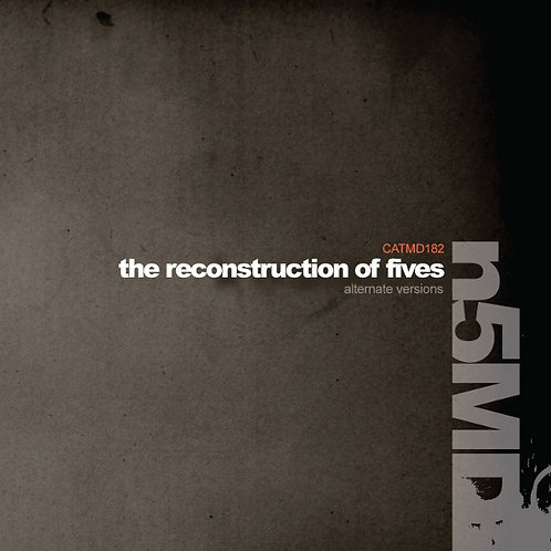 Various ‎– The Reconstruction Of Fives. Alternate Versions CD