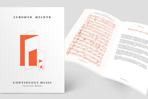 Lubomyr Melnyk - Continuous Music Selected Works (Book + D/L)
