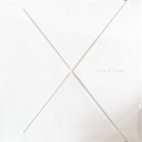 Erased Tapes 10 year compilation - 1 + 1 = X (3xlp)