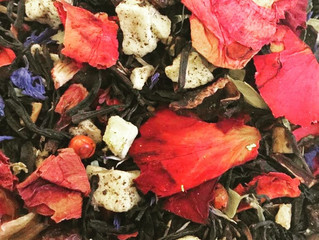 ON THE WINGS OF LOVE -  Babingtons ROYAL  WEDDING  TEA BLEND 2018