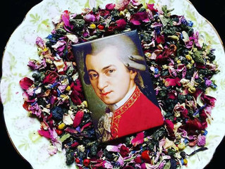 Mozart in Love! Specialty Oolong Tea Blend of the Collection Classic Sound of Alchemist by Melania F